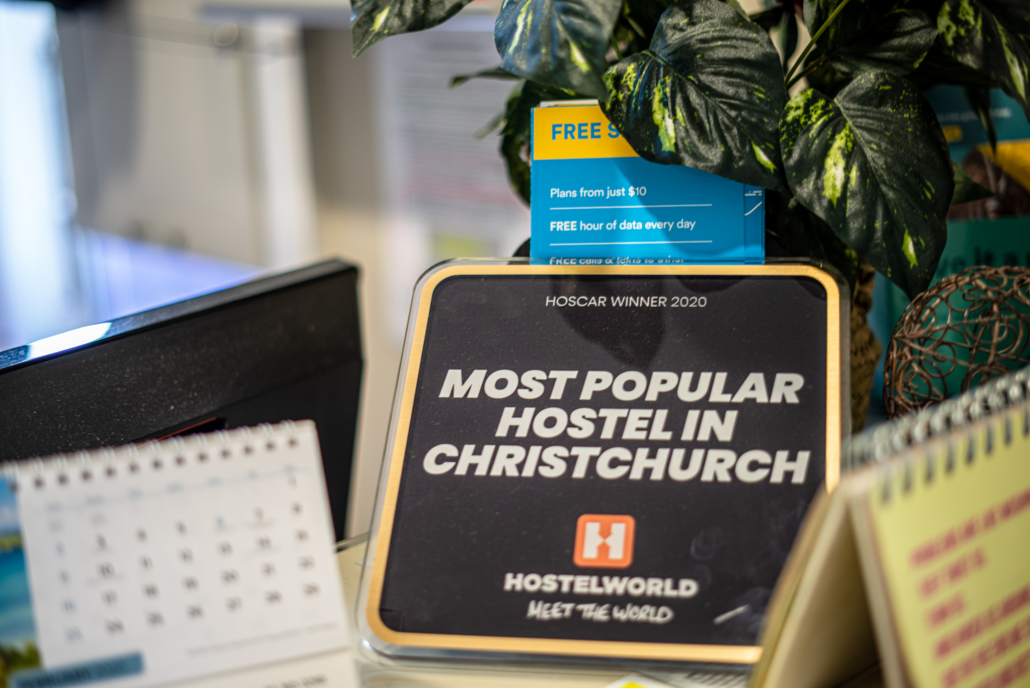 Hostelworld Award