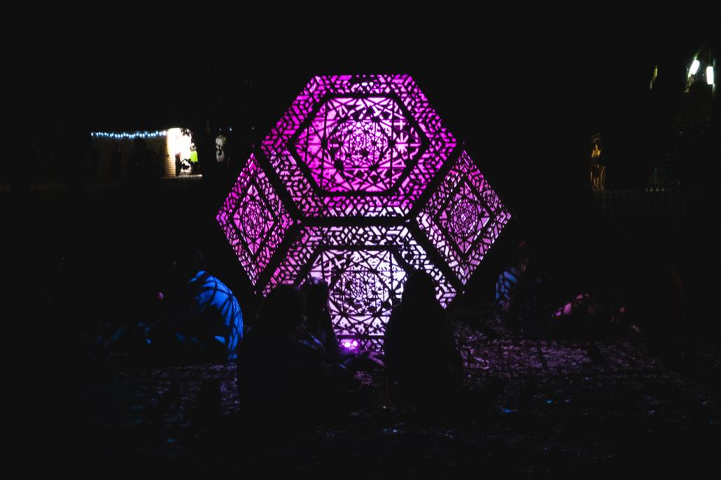 Hexagon Light Pink