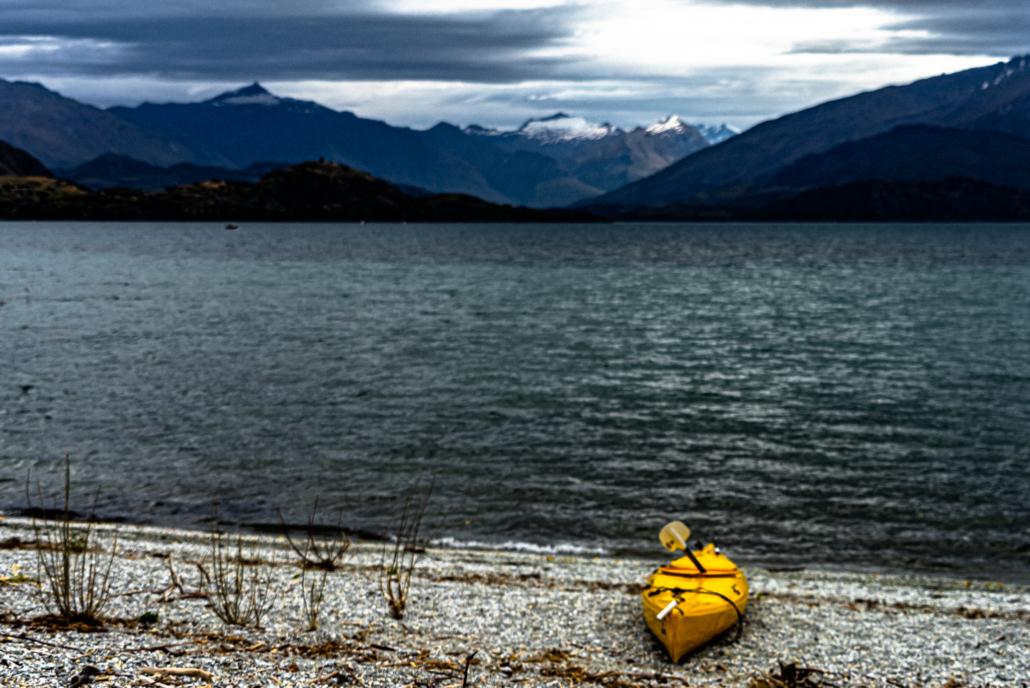 Kayak by Lake