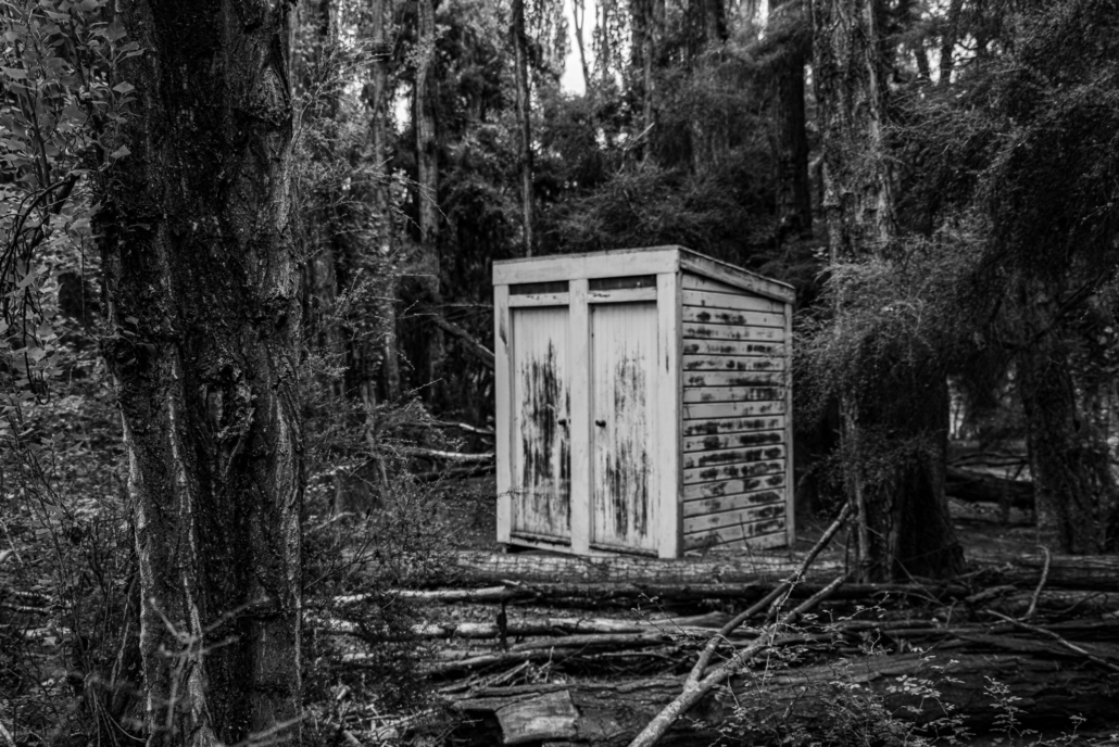 Empty Outhouse