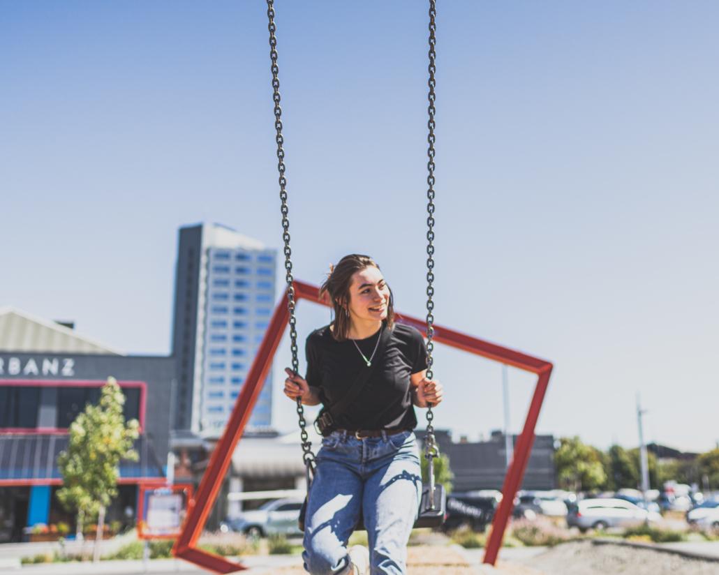 Paula on Swing
