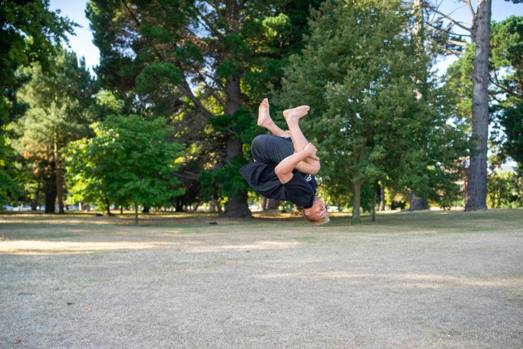 Boy doing Flip