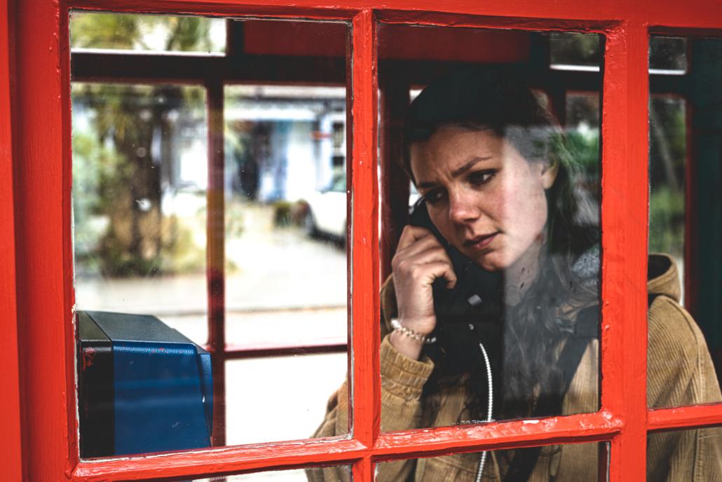 Fanny on Phone