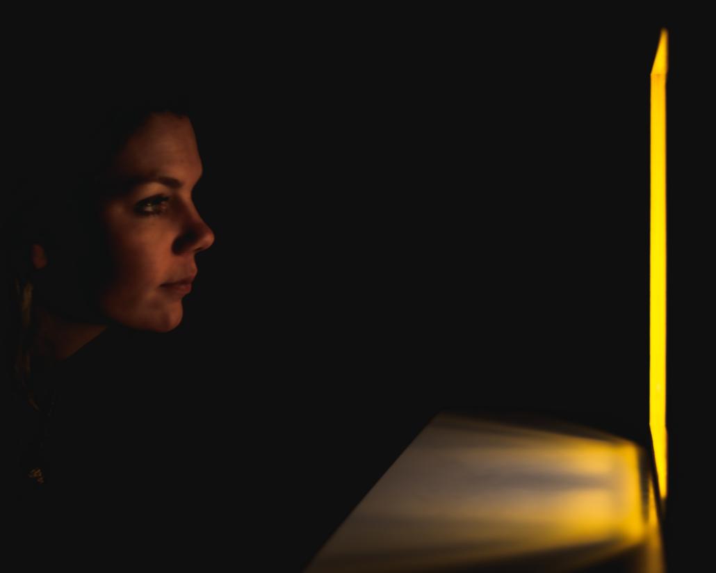 Fanny Staring at Light