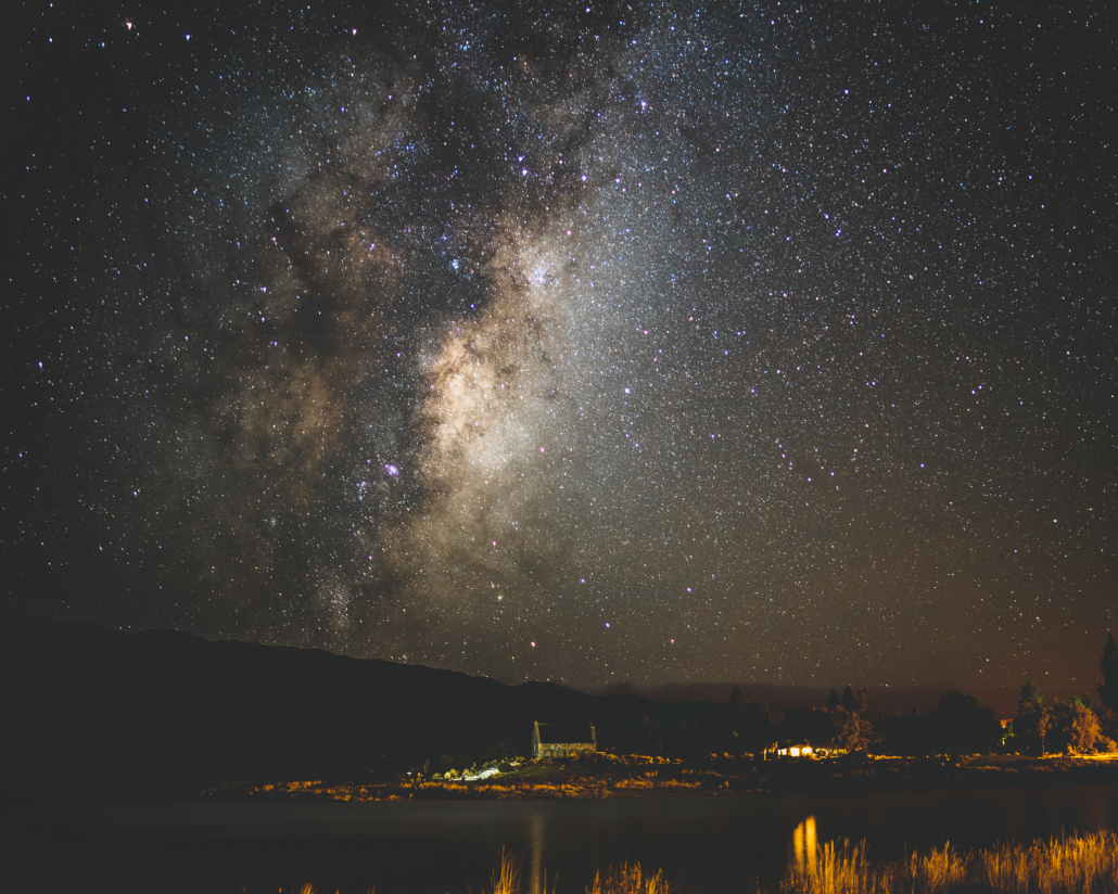 Astrophotography Church of Good Shepared