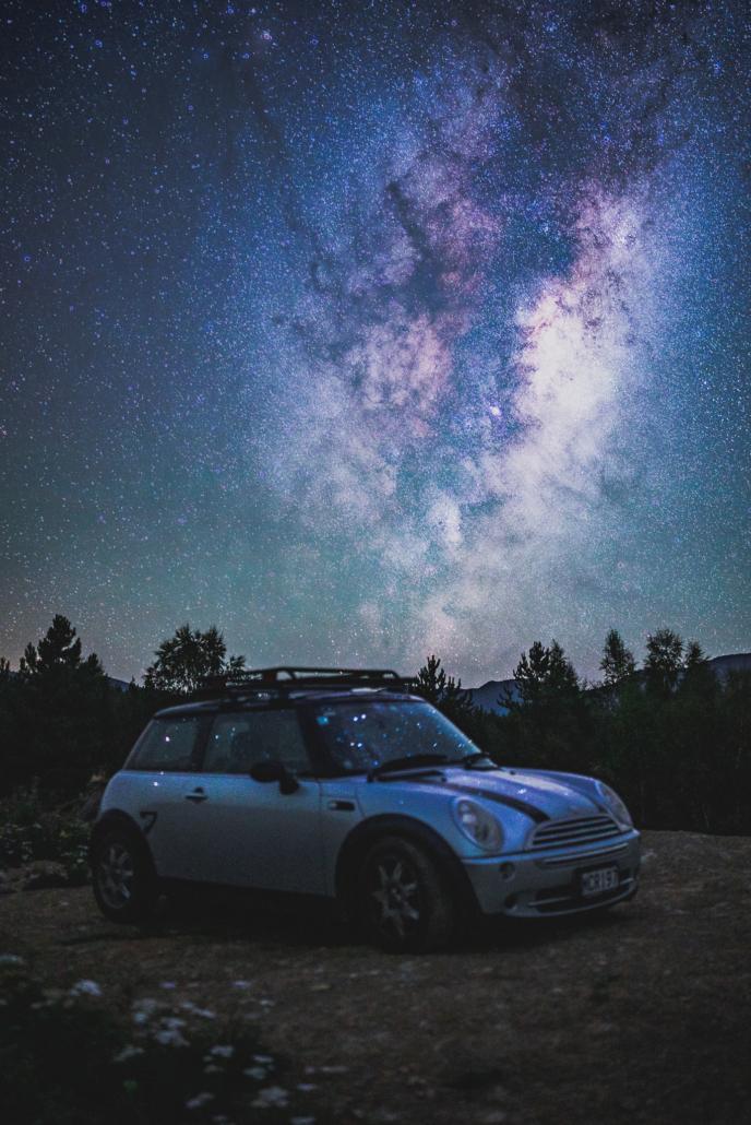 Astrophotography MINI Cooper